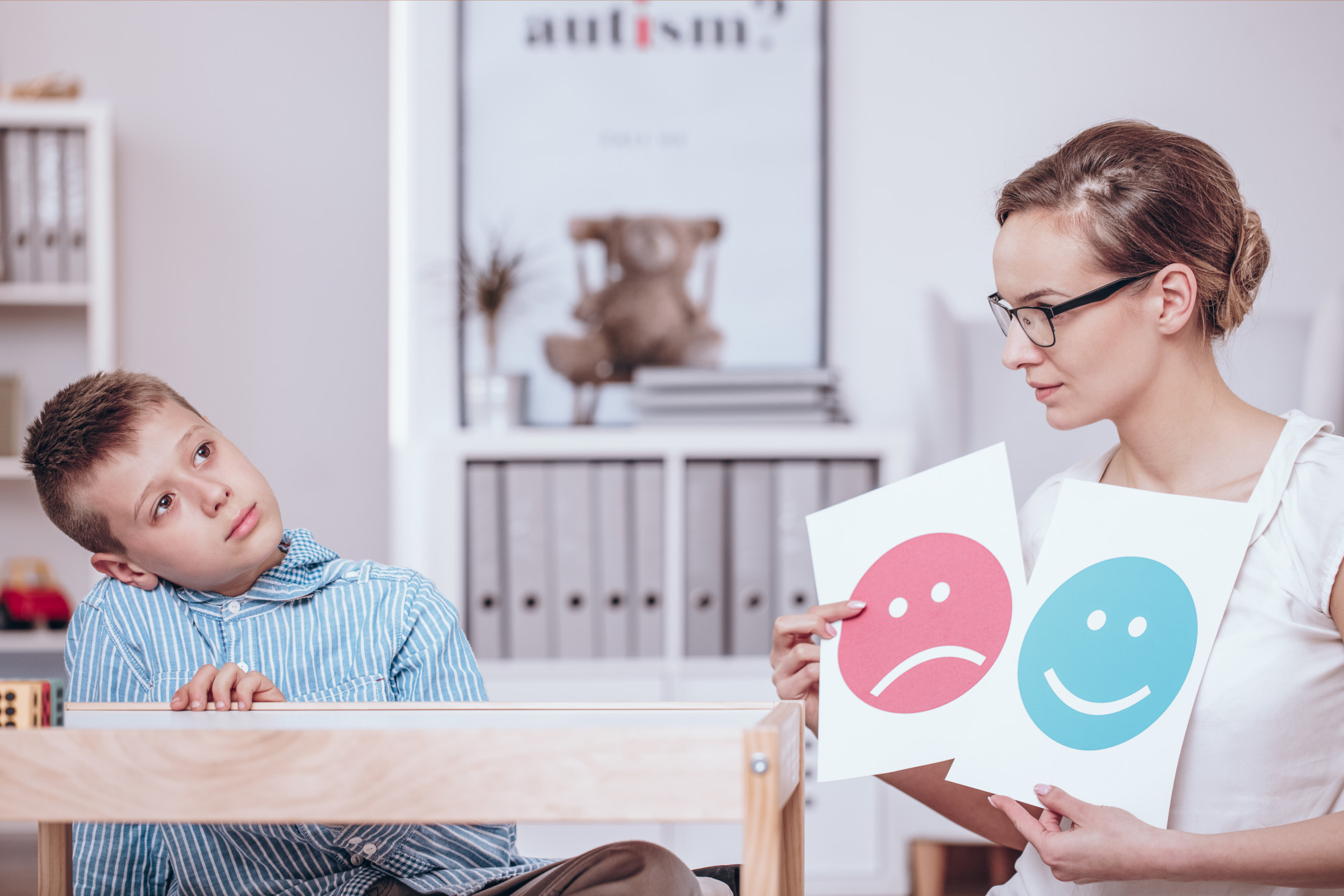 first autism diagnosis